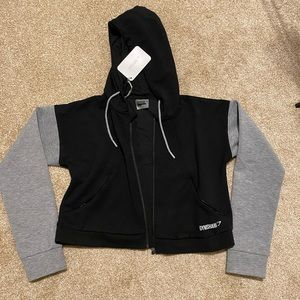 Gymshark Cropped Zip Up